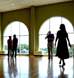 la pierre ballroom footer