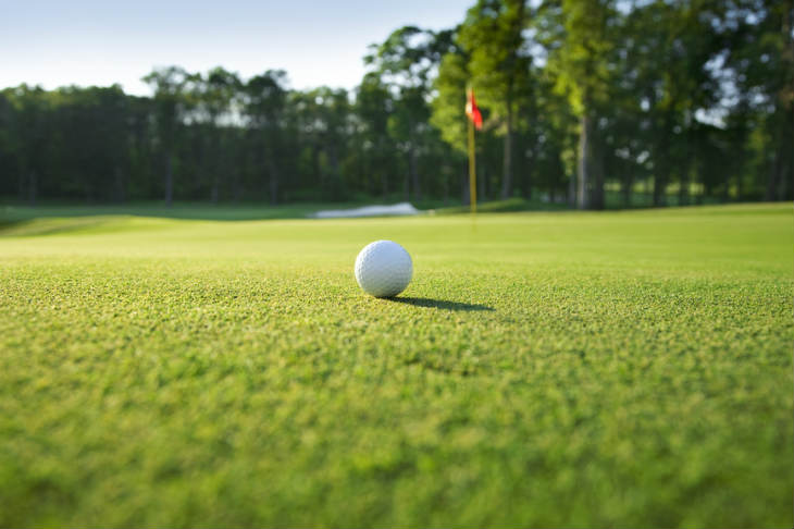 Golf Course Events Page